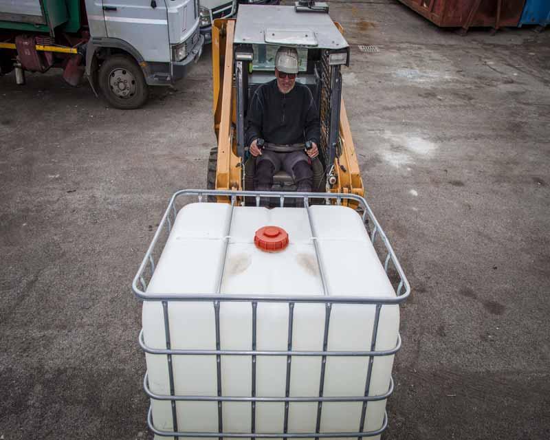 Smaltimento rifiuti bulk Roma