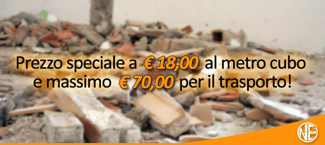 offerta smaltimento calcinacci Roma